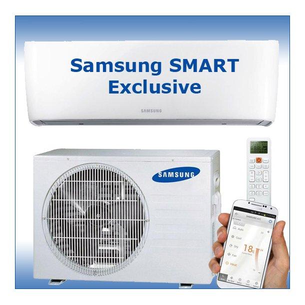 Varmepumpe<br>Samsung SMART 9<br>Exclusive - 6,3 kW