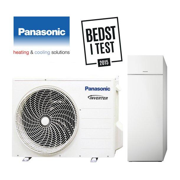 Panasonic luft til vand varmepumpe, All-In-One