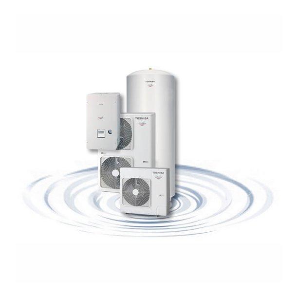 Toshiba Estia - luft til vand varmepumpe